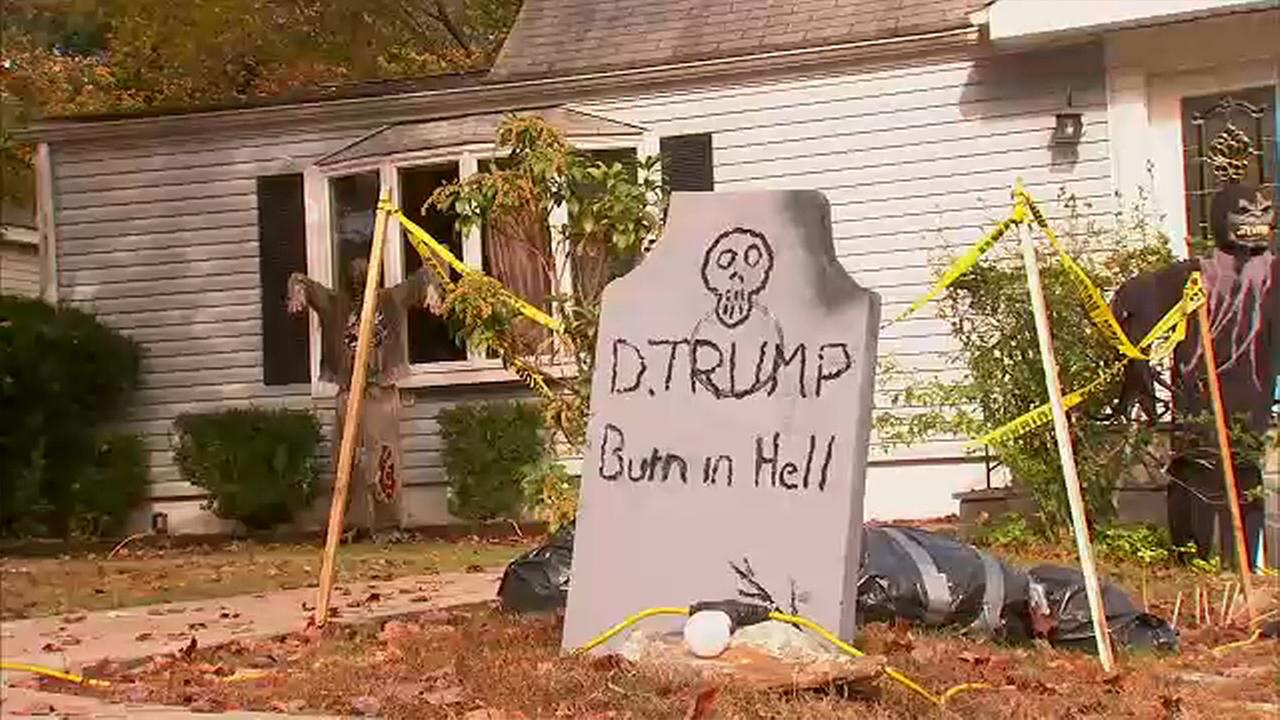 anti trump halloween decoration