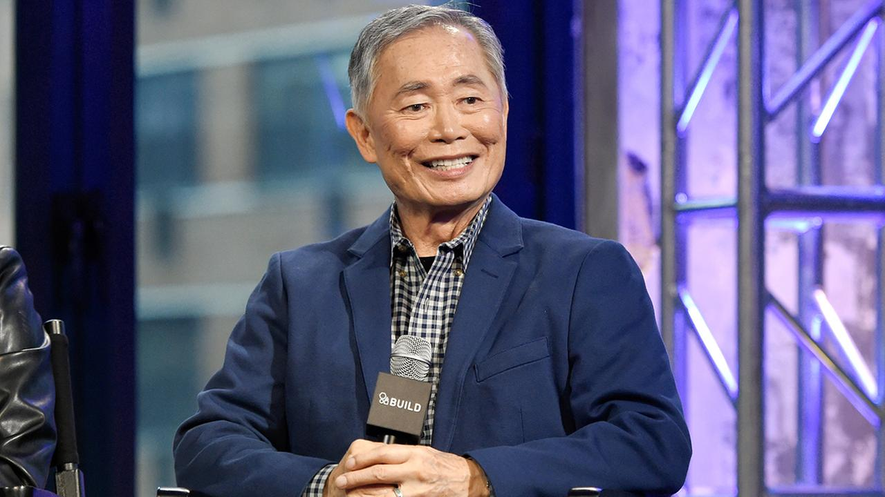 Actor George Takei participates in AOLs BUILD Speaker Series to discuss the Broadway musical Allegiance at AOL Studios Dec. 3, 2015. (Photo by Evan Agostini/Invision/AP)
