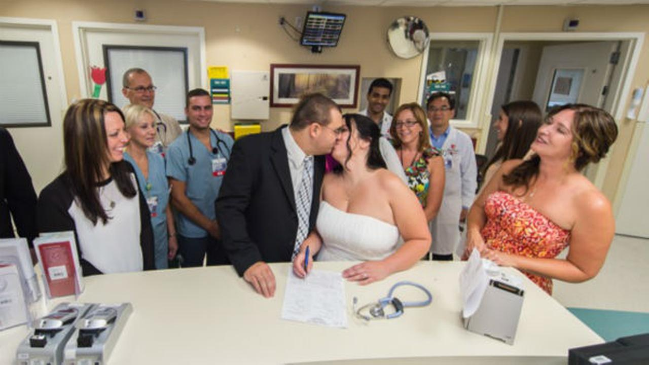 man diagnosed with leukemia gets married at stony brook universityman diagnosed with leukemia gets married at stony brook university hospital abc7ny com