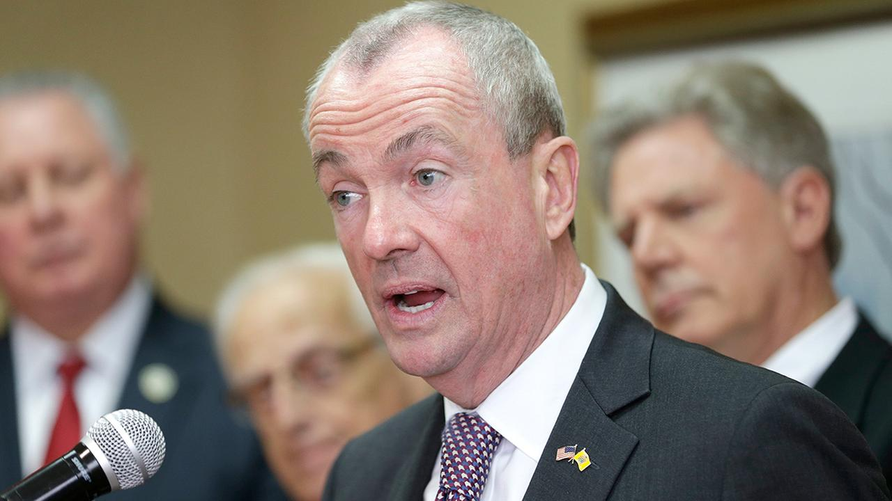 New Jersey Gov.-elect Phil Murphy speaks during a news conference in Newark, N.J., Monday, Nov. 13, 2017.