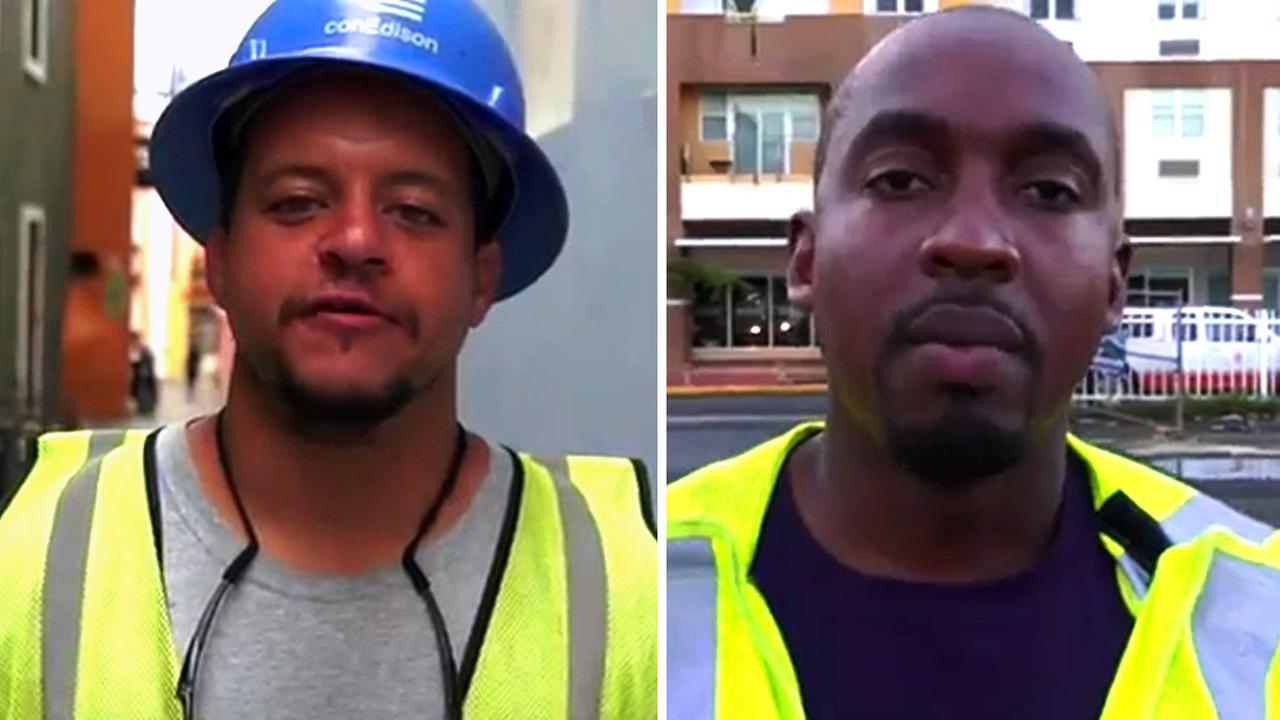 WATCH: Con Edison workers helping Puerto Rico send Thanksgiving greetings