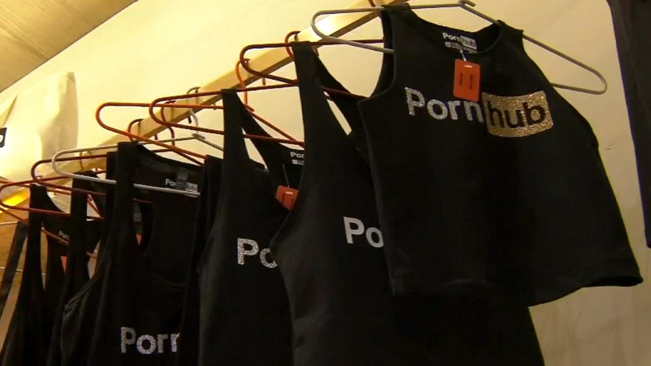 Popular porn website Pornhub opens pop-up store in New York City