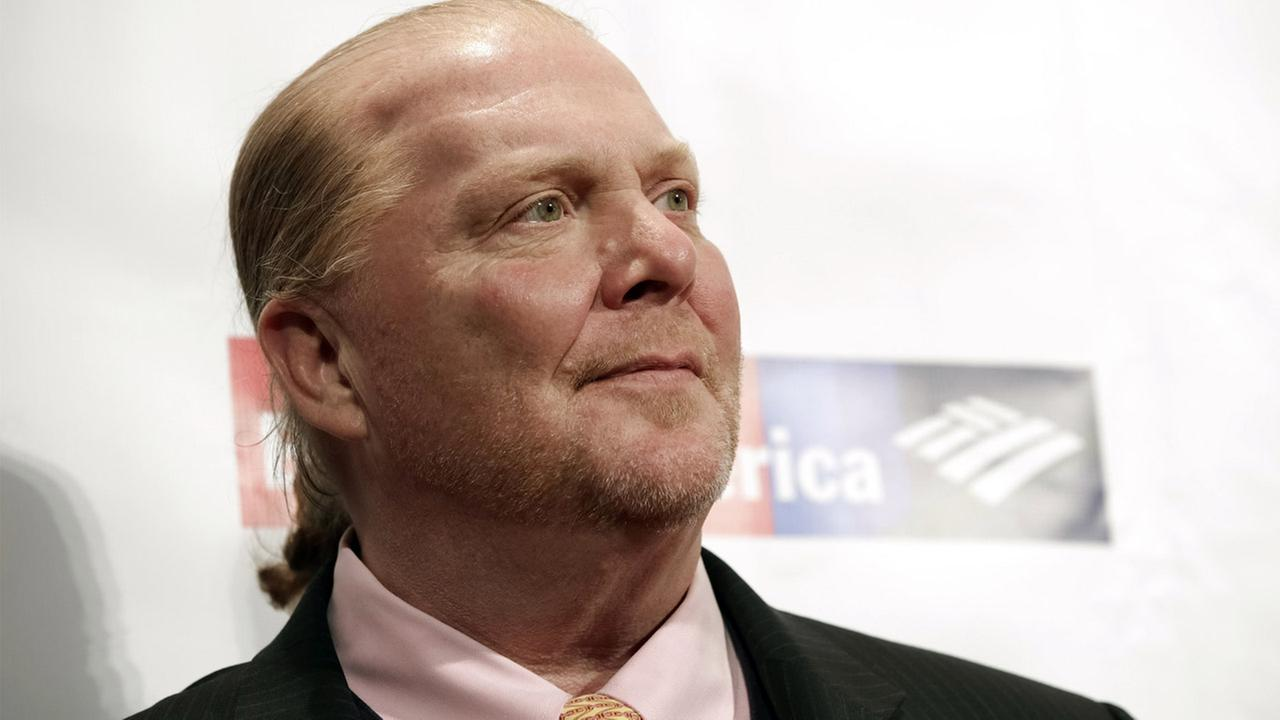 In this Wednesday, April 19, 2017, file photo, chef Mario Batali attends an awards event in New York.