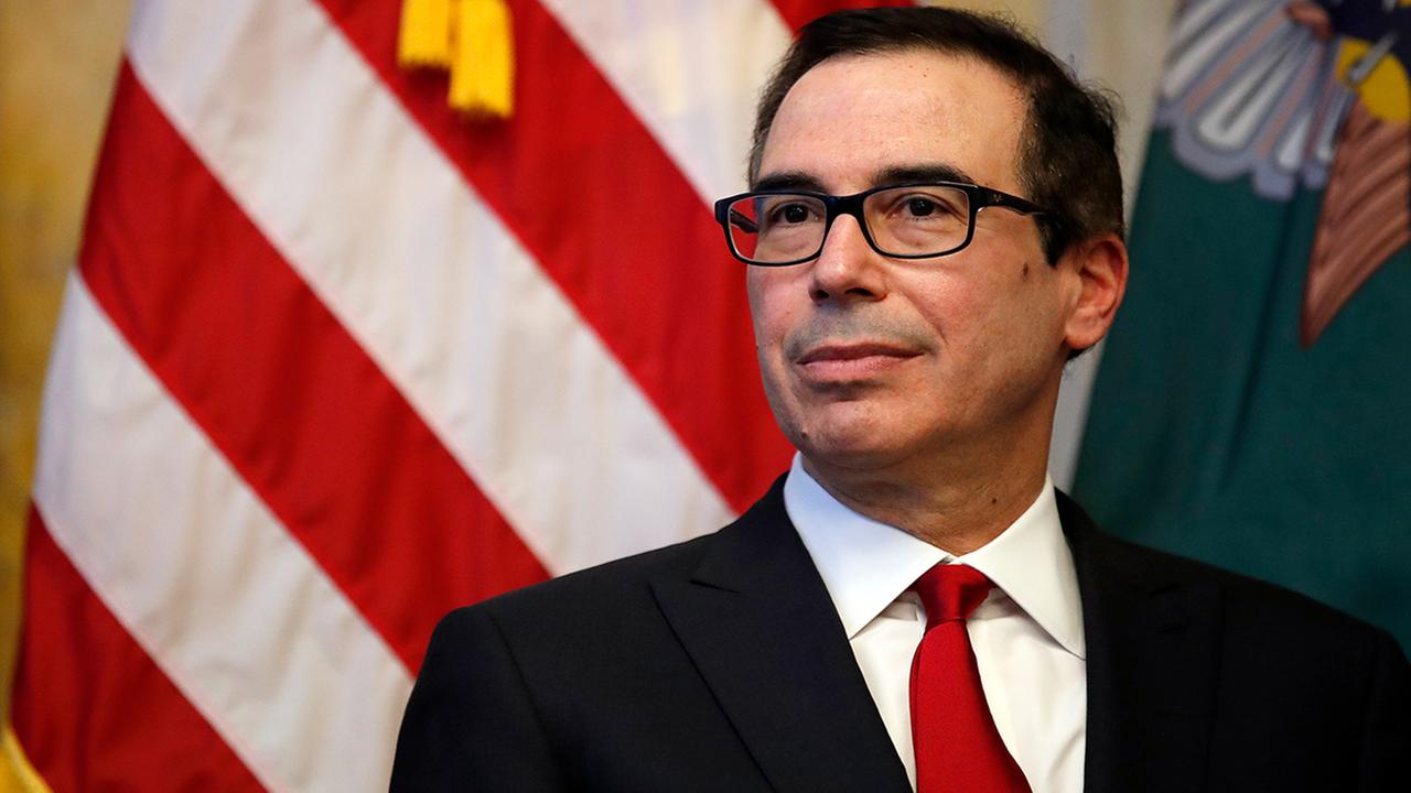 Secret Service interviews person over manure sent to Mnuchin