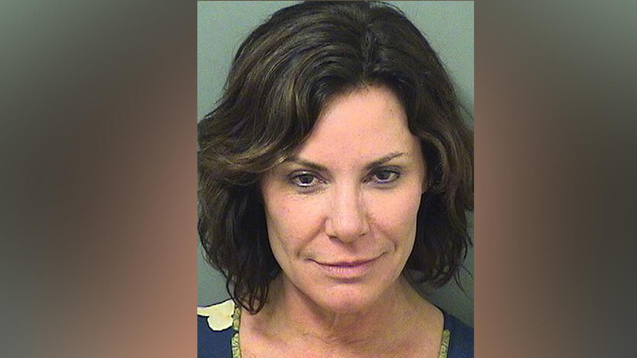 This Dec. 24, 2017 photo provided by the Palm Beach County Sheriffs Office shows Luann de Lesseps, a star of the reality television series The Real Housewives of New York City.