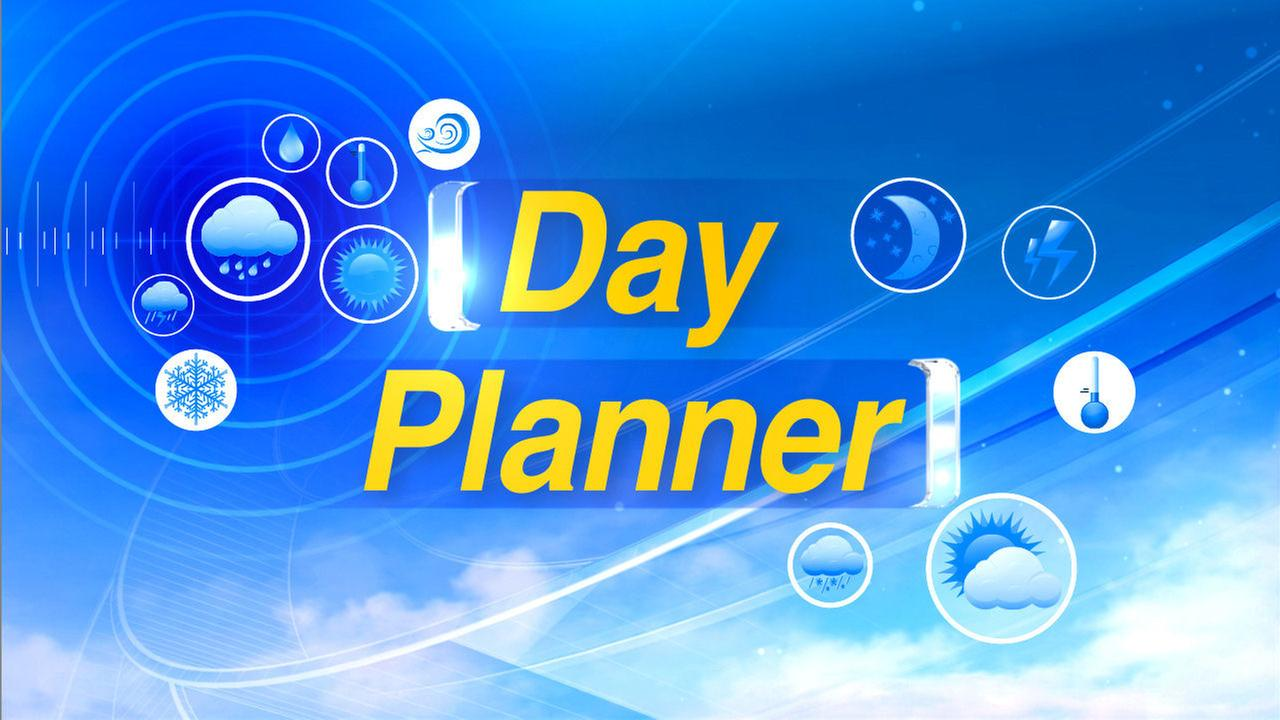 dayplanner accuweather forecast