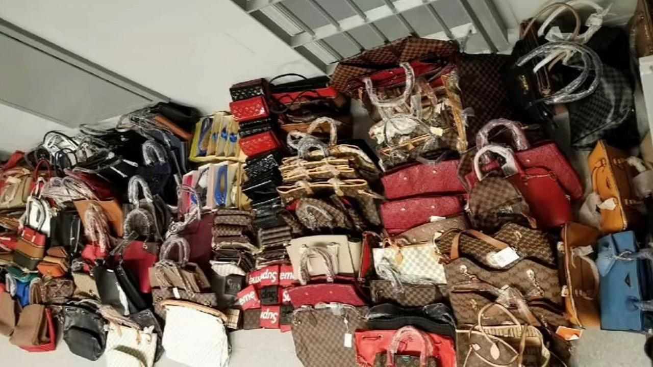 Port Authority make huge counterfeit goods bust on George Washington Bridge