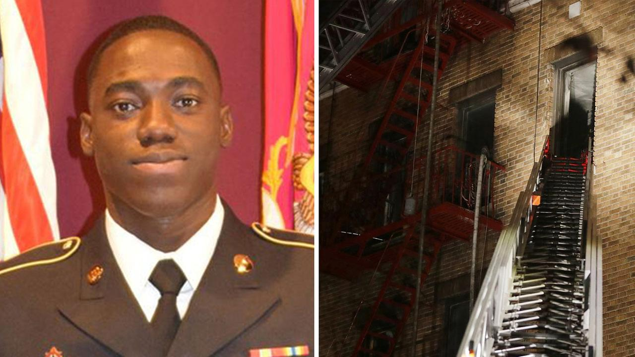 Hero soldier dies saving 4 lives in Bronx fire that killed 12