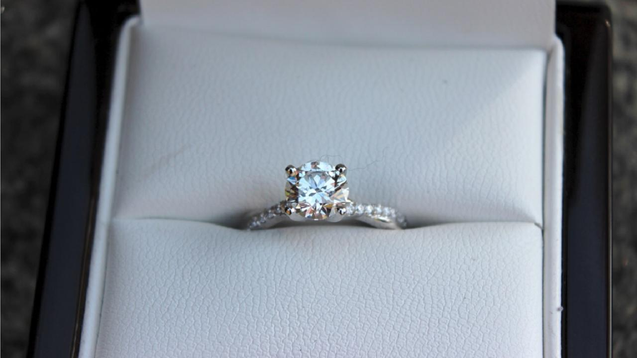 Police: Man in Ohio used bank robbery cash to buy an engagement ring