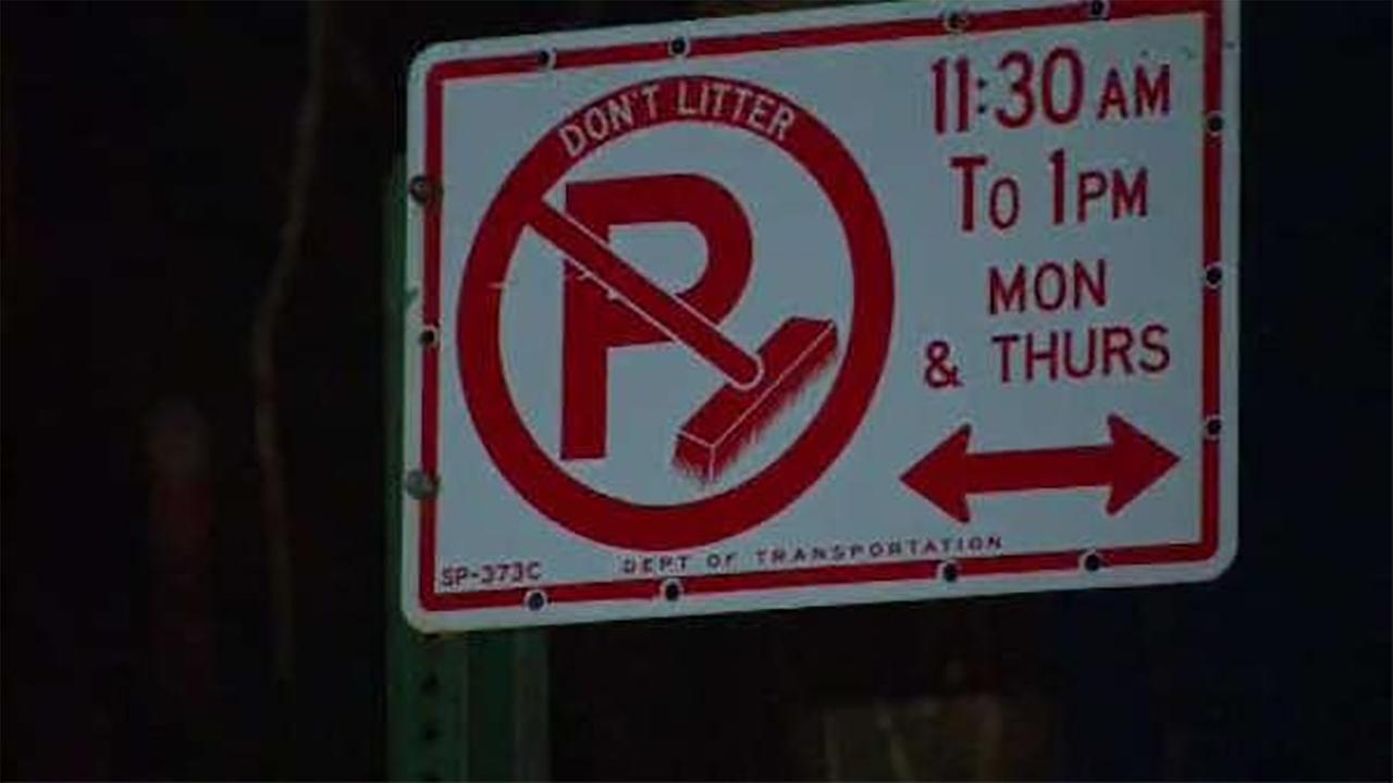 Alternate side parking regulations suspended through Monday in NYC