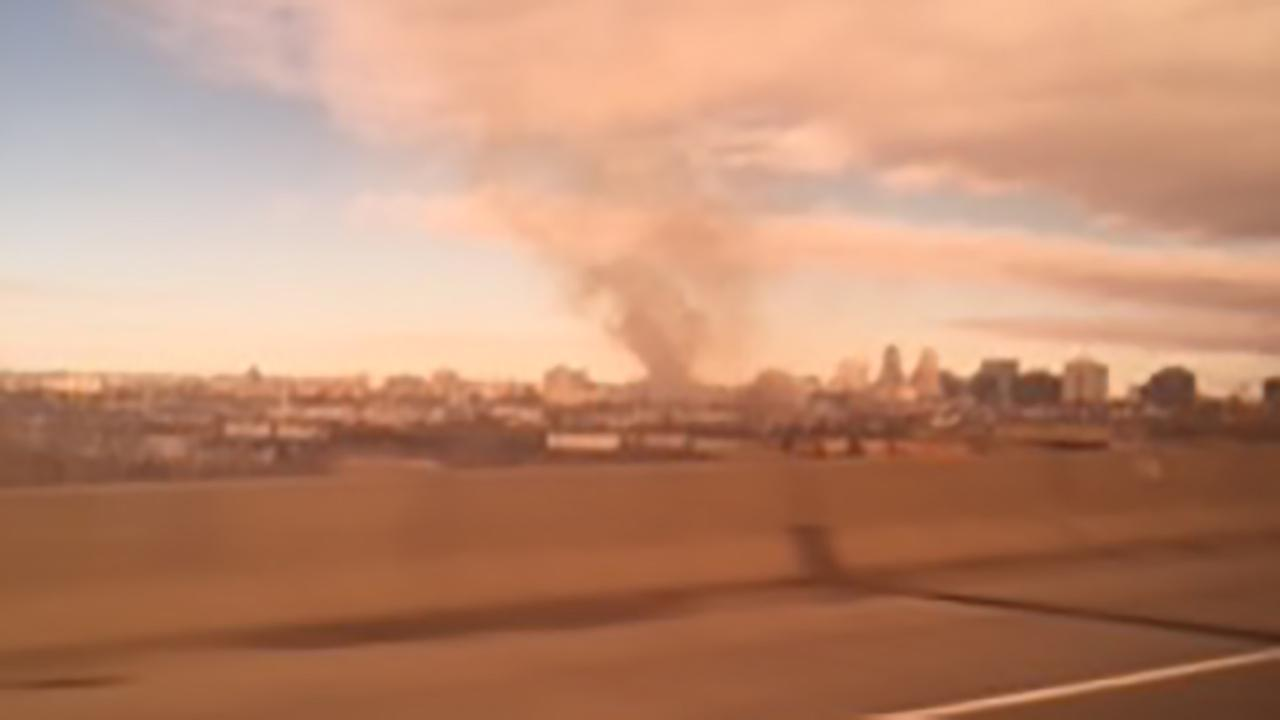 Fire near tracks in Newark affects New Jersey Transit service