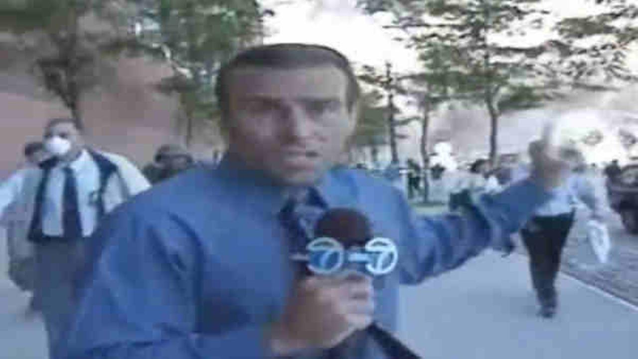 Eyewitness News day-of-air coverage from September 11th, 2001
