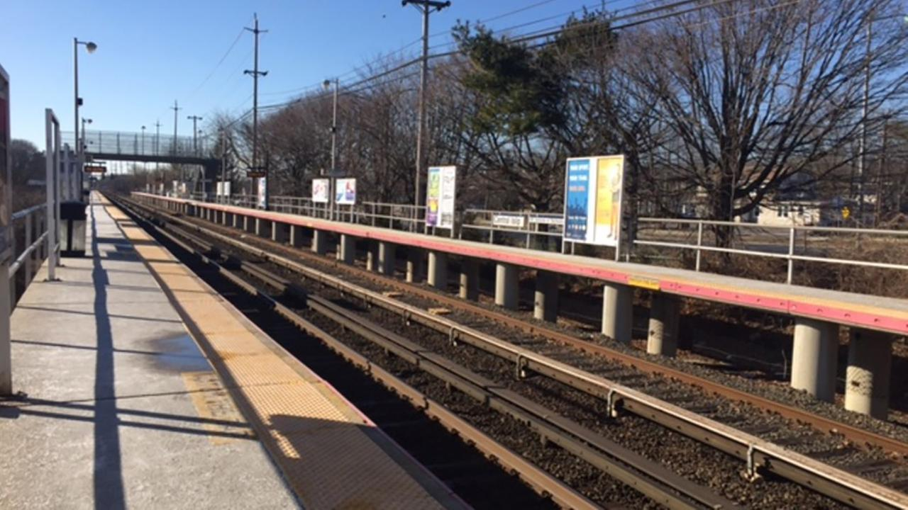 Young woman falls onto tracks after being punched at LIRR station