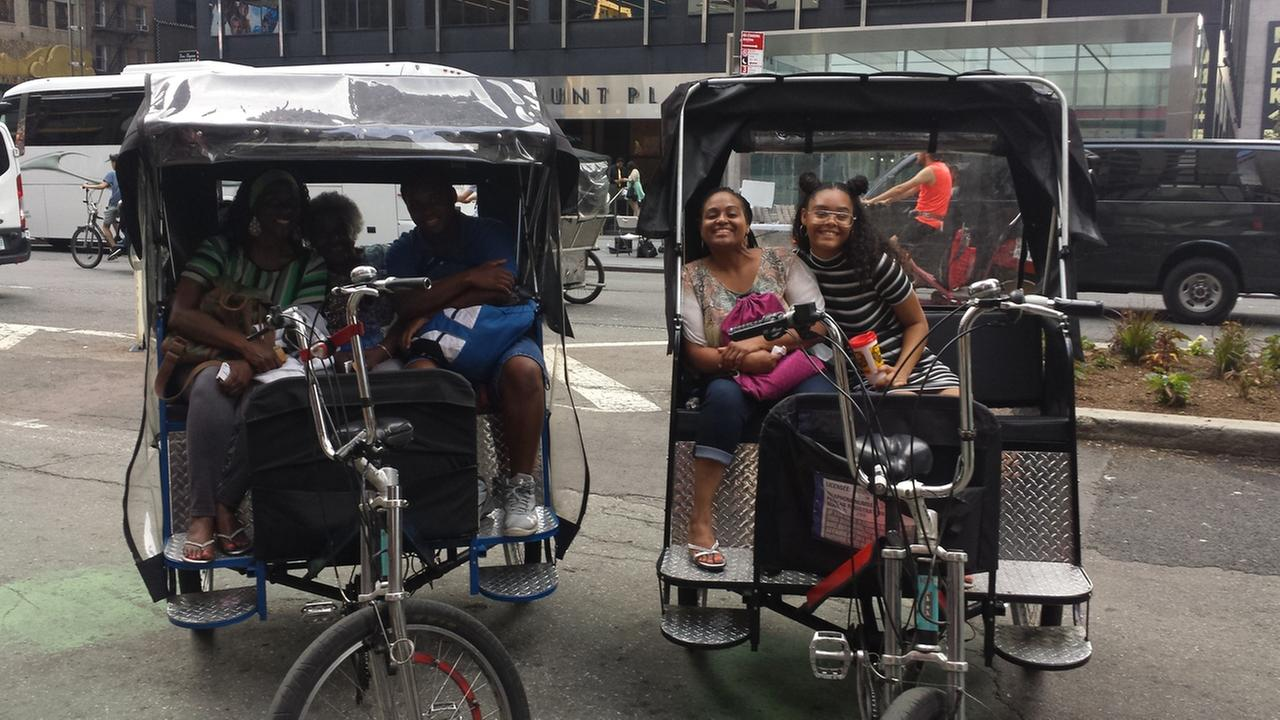 This family says they were charged 200 dollars for their pedicab ride while visiting from Texas.