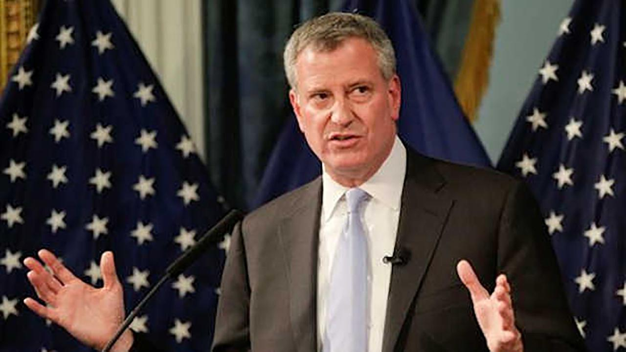 Bill de Blasio among group of mayors meeting with Trump Wednesday on infrastructure