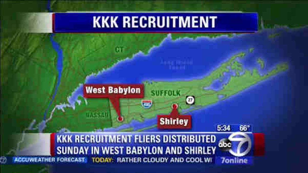 long island kkk recruitment