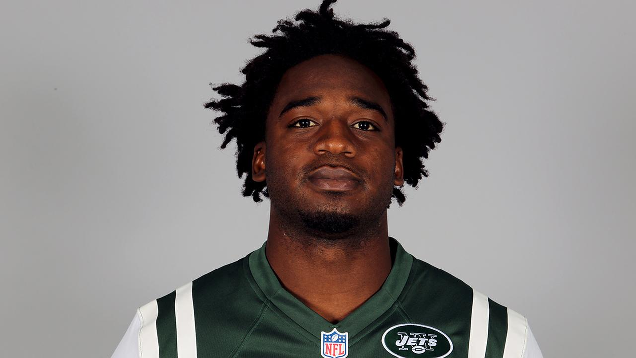 This is a 2012 photo of Joe McKnight of the New York Jets NFL football team.