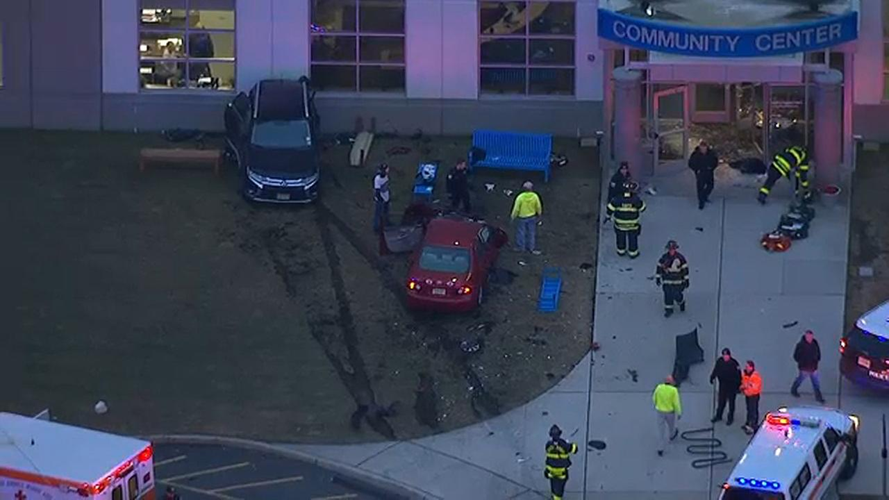 Several injured after car crashes into South Amboy YMCA