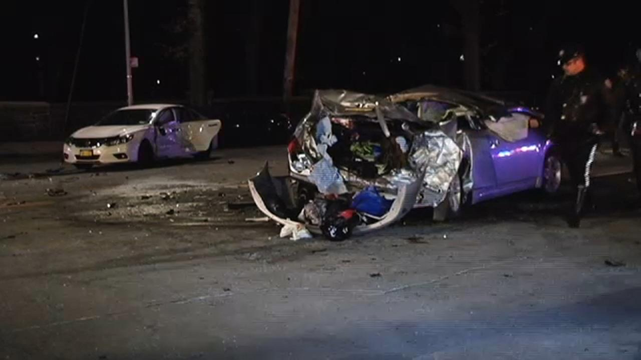 1 dead, several injured in crash caused by suspected drunk driver in the Bronx
