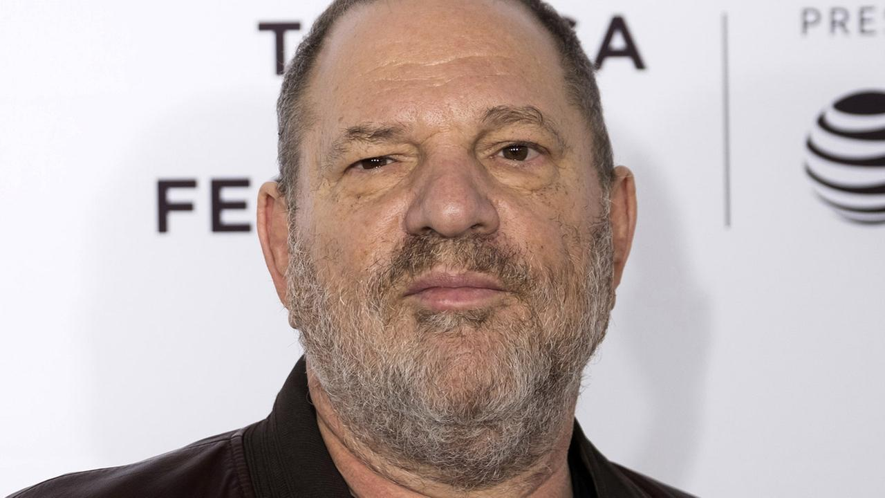 In this April 28, 2017 file photo, Harvey Weinstein attends the Reservoir Dogs 25th anniversary screening during the 2017 Tribeca Film Festival in New York.