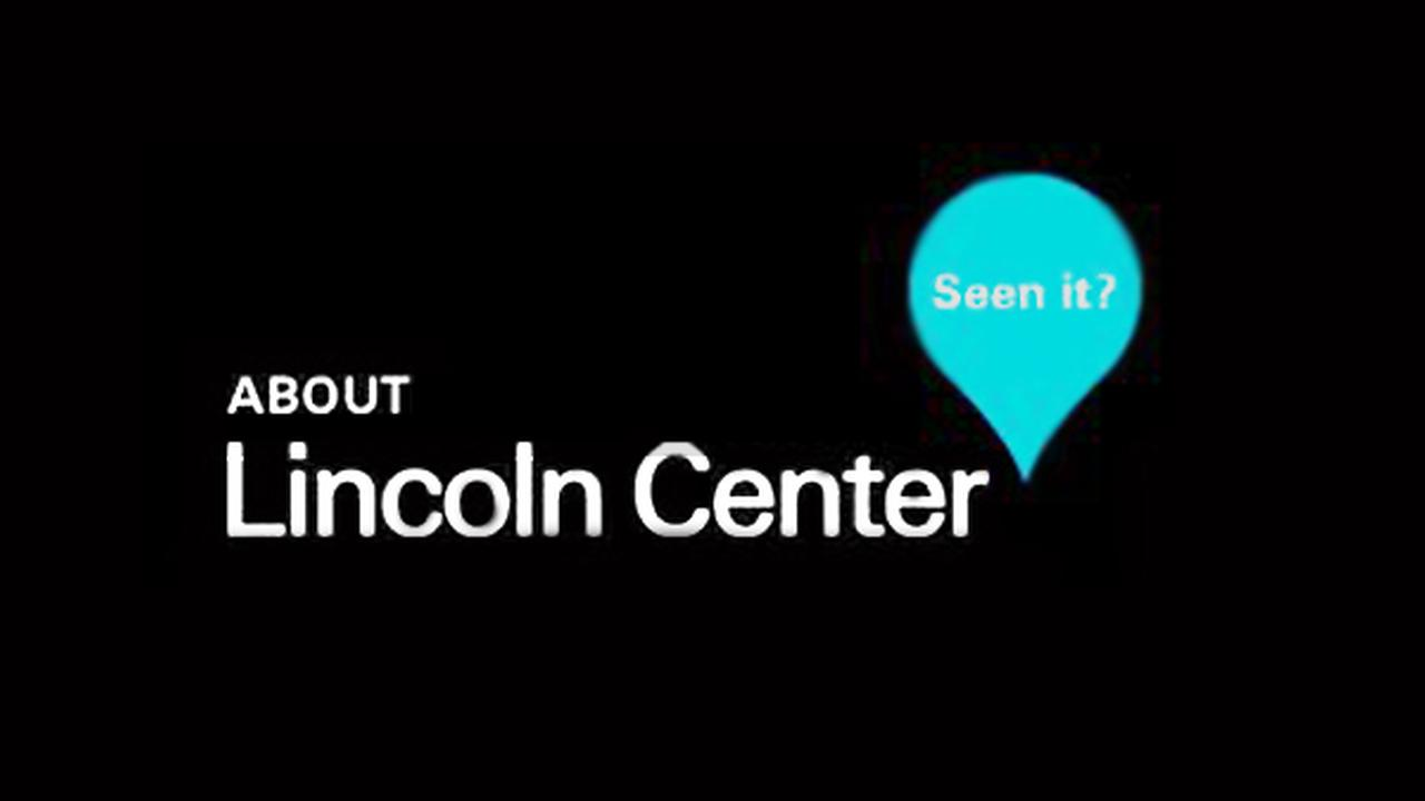 Lincoln Center Events in October