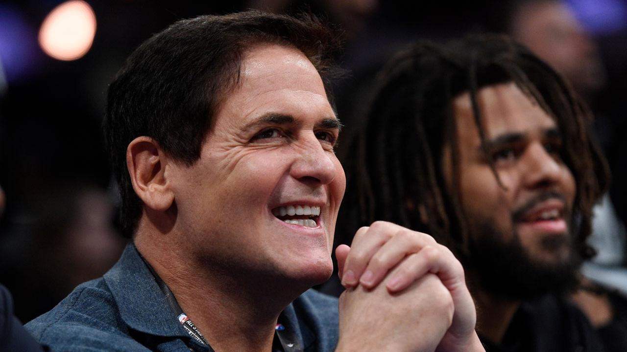 Businessman Mark Cuban owns the Dallas Mavericks.