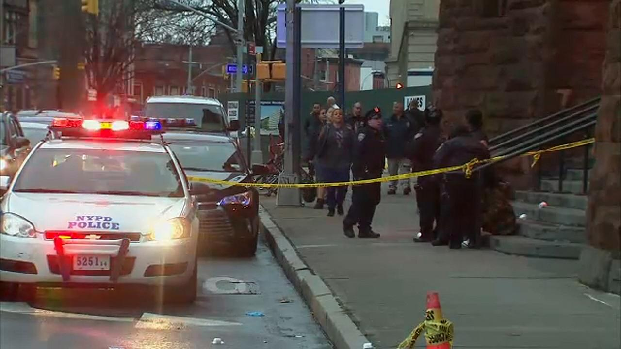 Man stabbed to death outside Brooklyn shelter in broad daylight