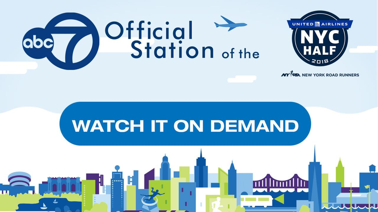 The 2018 United Airlines NYC Half: Watch it on Demand!