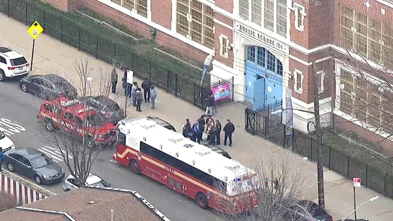 17 taken to hospital after 8-year-old discharges pepper spray in Brooklyn school