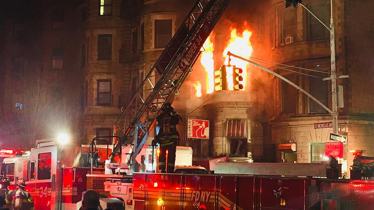 harlem fire photo