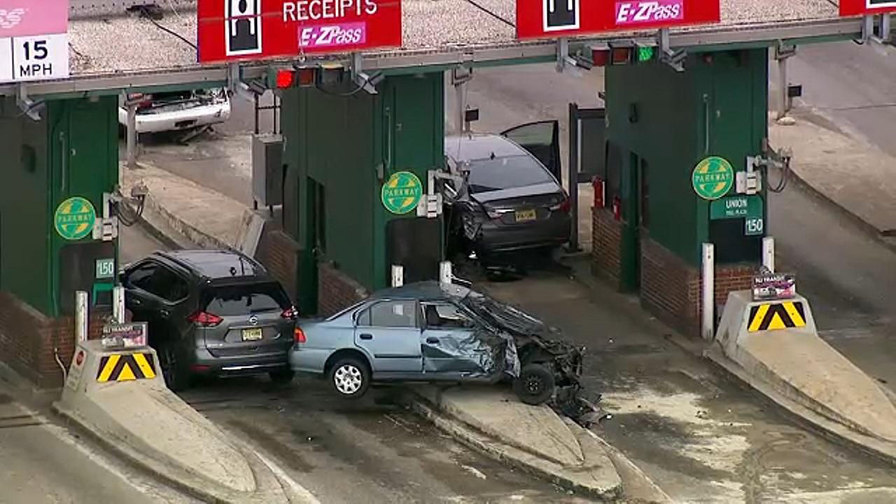 Driver killed in garden state parkway toll plaza crash in - Accident on garden state parkway today ...