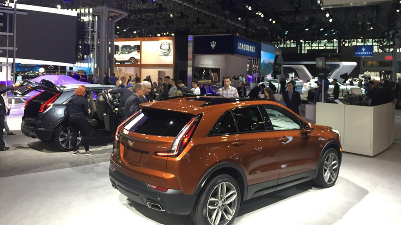 new york international auto show suvs trucks