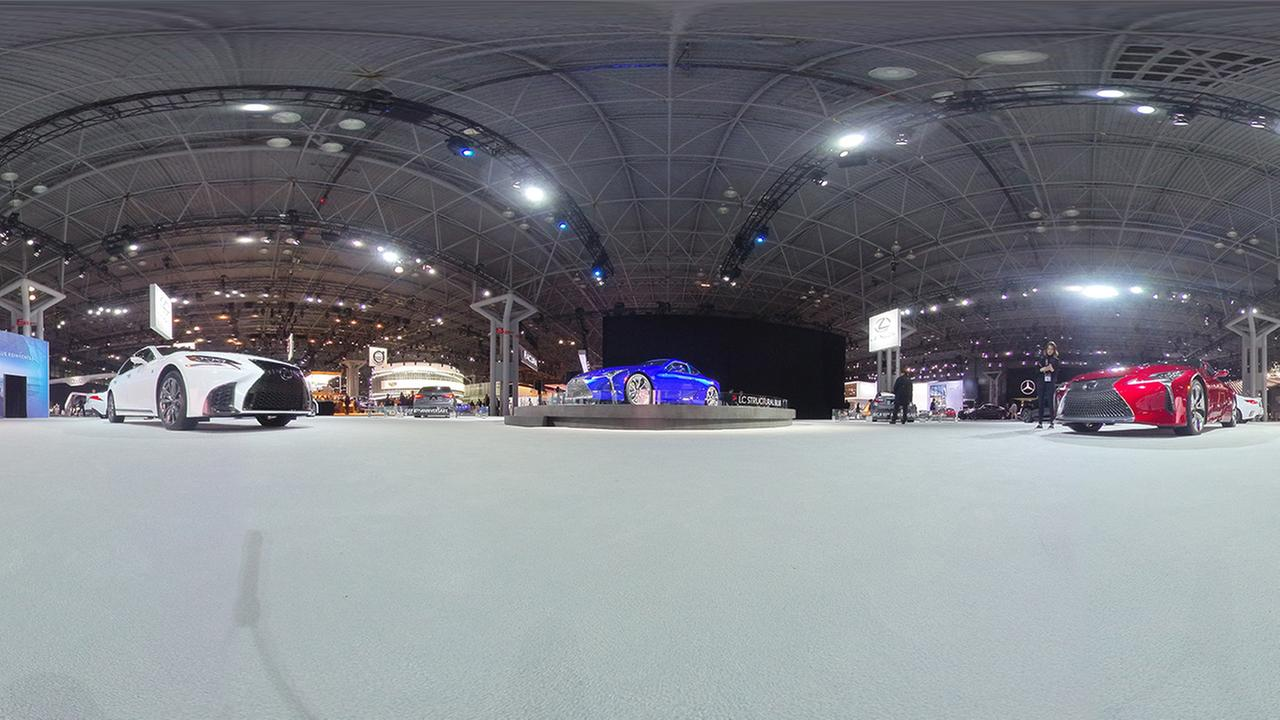 new york international auto show 360 photo