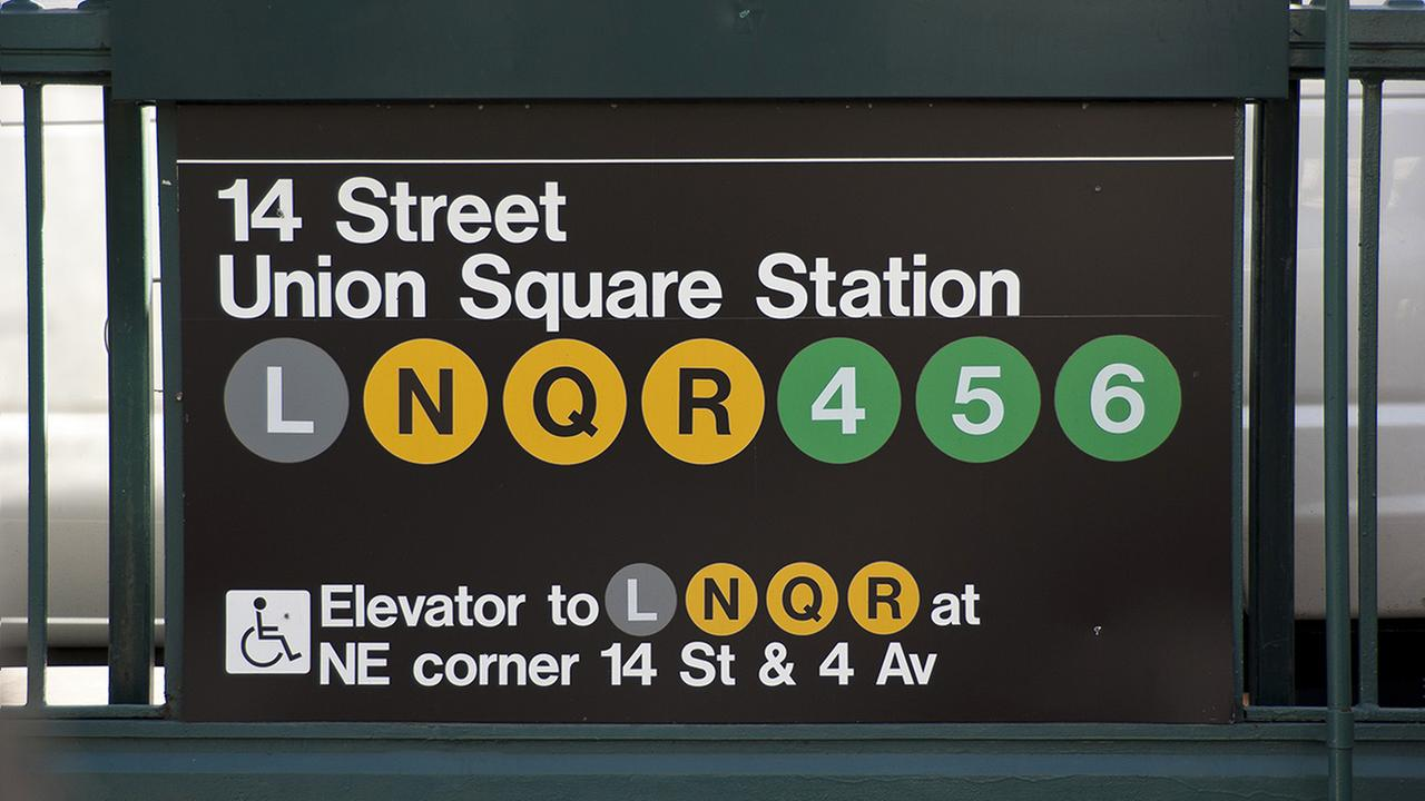 NYPD: Woman arrested after pushing man onto subway tracks in Union Square