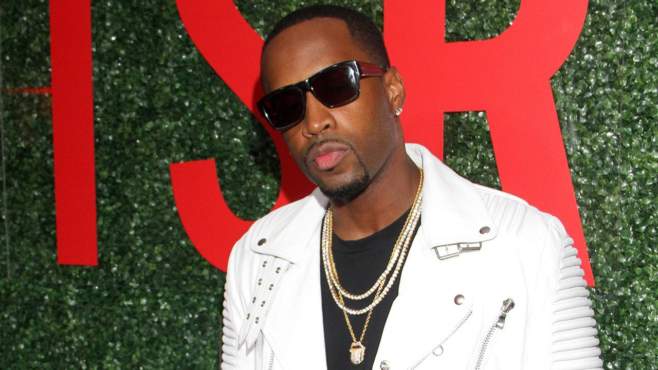 Recording artist Safaree Samuels seen at The Shade Rooms Shades of Eden 1st Anniversary Celebration at a private mansion on Saturday, June 4th, 2016, in Los Angeles, California.