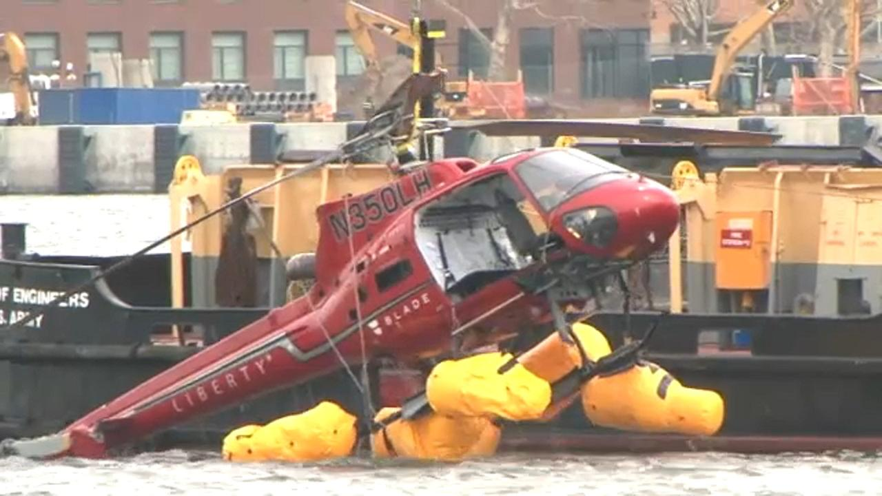 Open-door helicopter flights banned from taking off from New York City after crash
