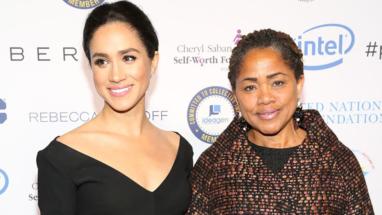 Meghan Markle and Doria Ragland attend UN Womens 20th Anniversary of the Fourth World Conference of Women in Beijing at Manhattan Centre at Hammerstein Ballroom on March 10, 2015