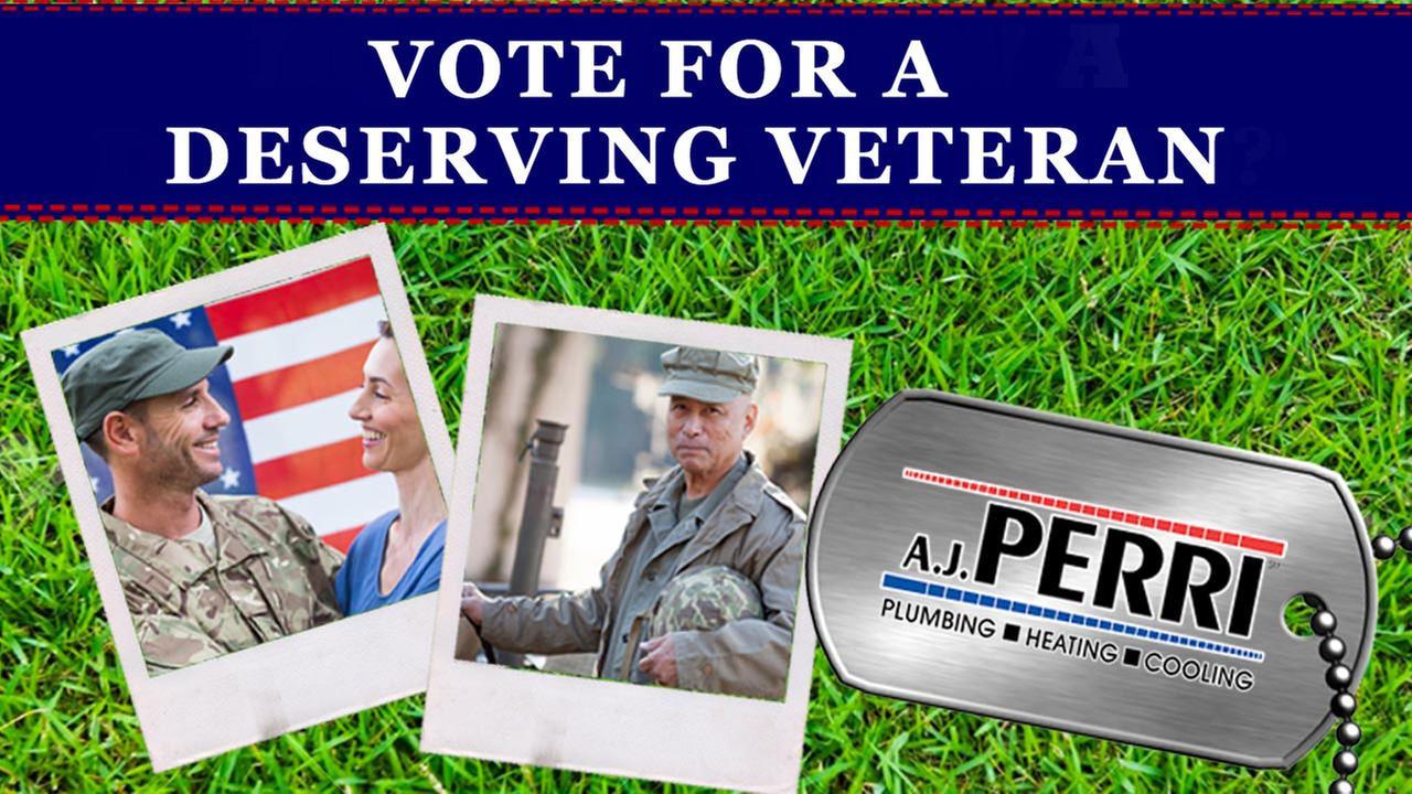 Vote now: Choose a Deserving Veteran