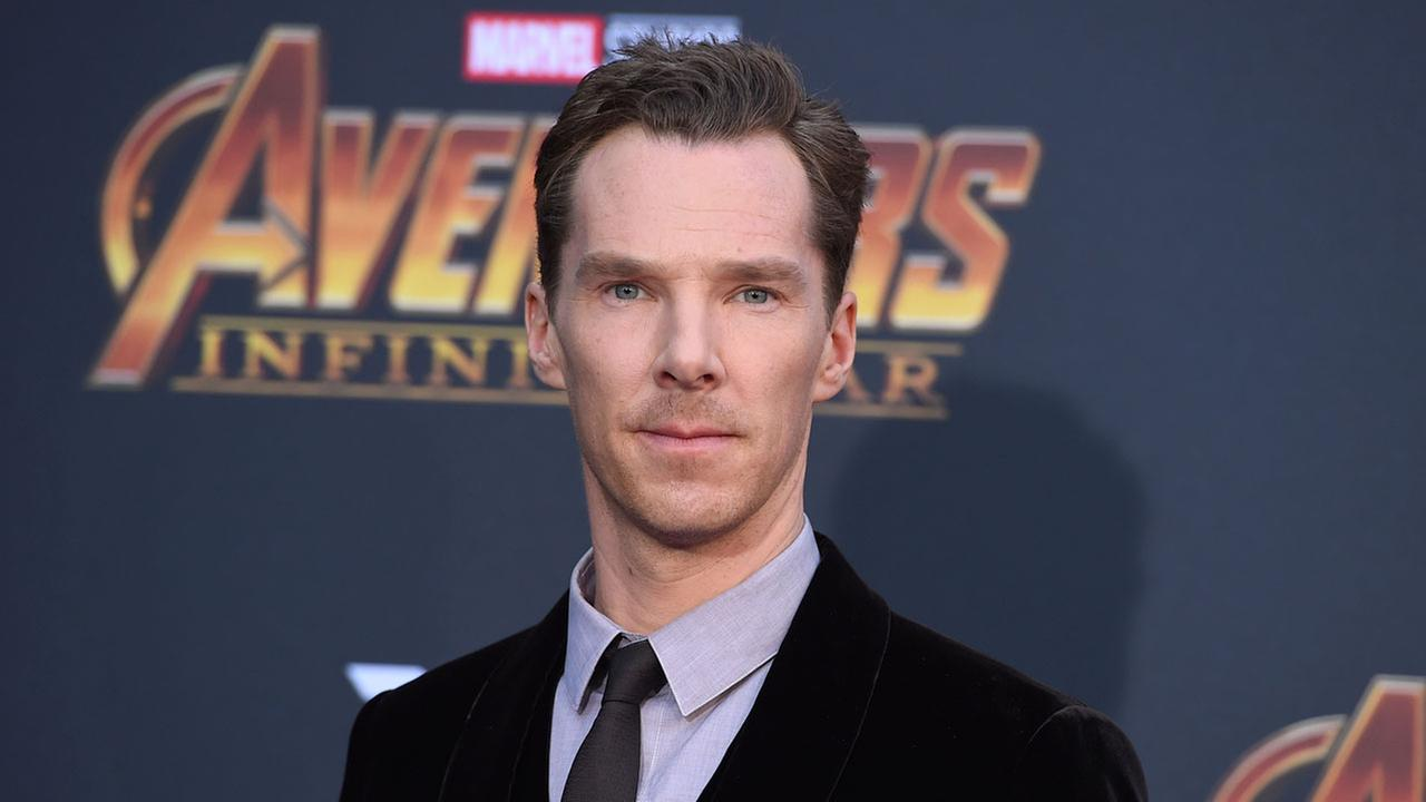 Benedict Cumberbatch arrives at the world premiere of Avengers: Infinity War on Monday, April 23, 2018, in Los Angeles.