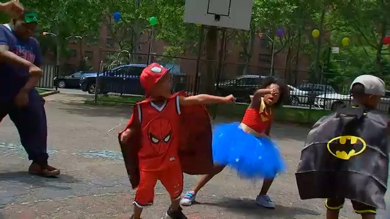 Celebration held in the Bronx for boy shot in head on birthday