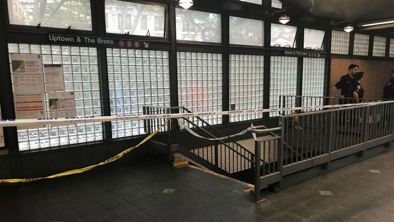 Police: Woman killed by subway train may have slipped off platform