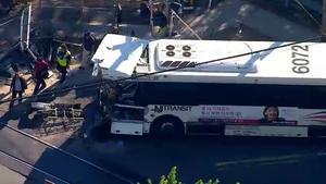 Top Five Bus Train Crash Garfield - Circus