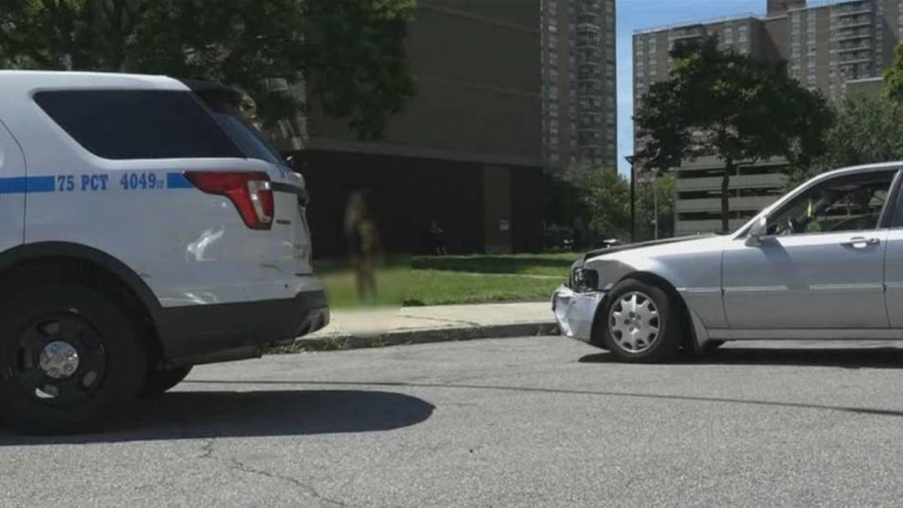 Police: 11-year-old girl crashes mother's car in Brooklyn