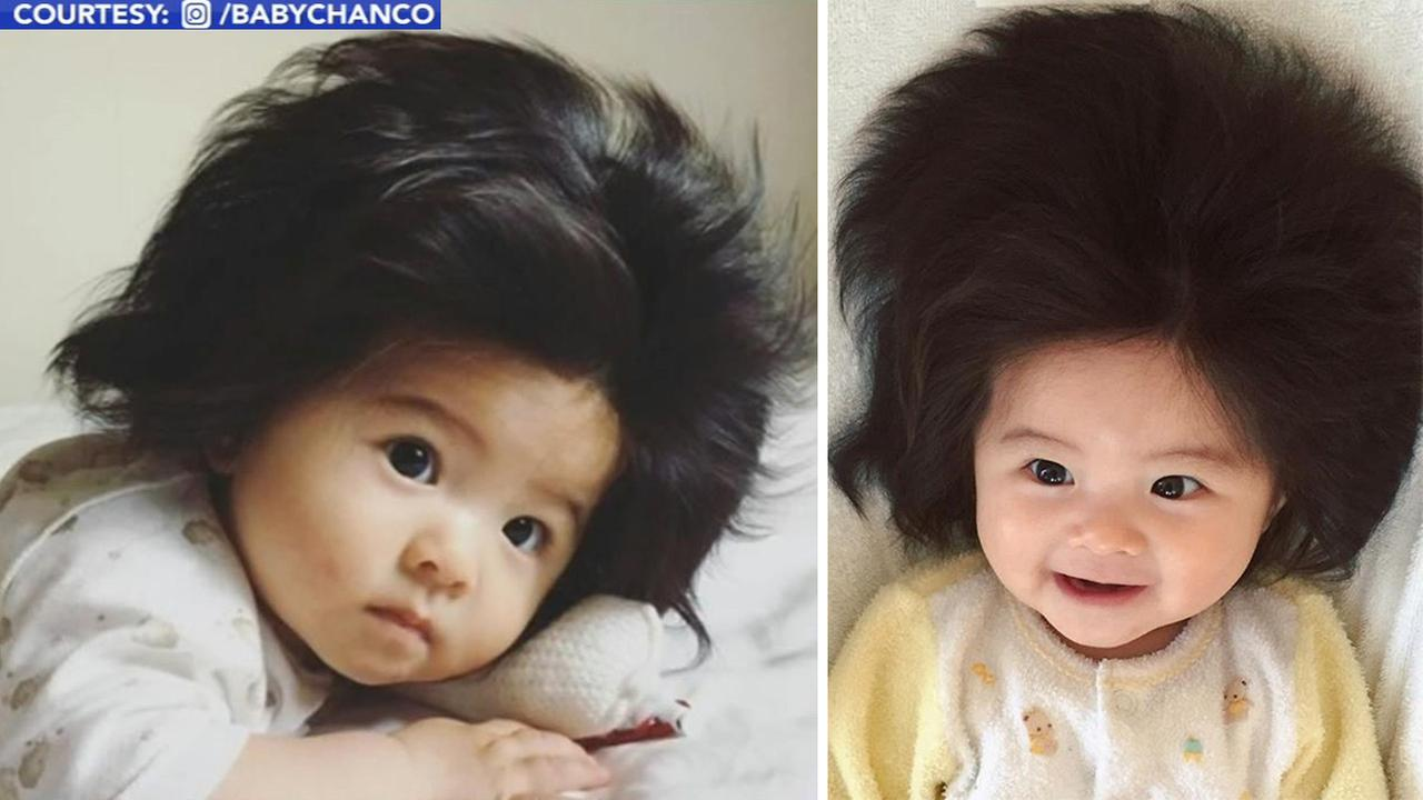 Baby In Japan Goes Viral For Her Luxurious Head Of Hair