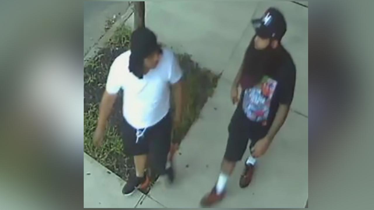 Police release photos of 2 persons of interest in Camden detectives shooting