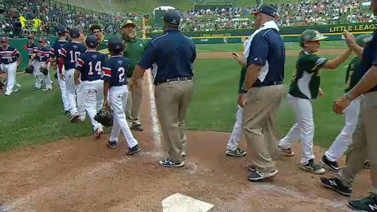 Staten Island wins first game of Little League World Series, beating team from Iowa