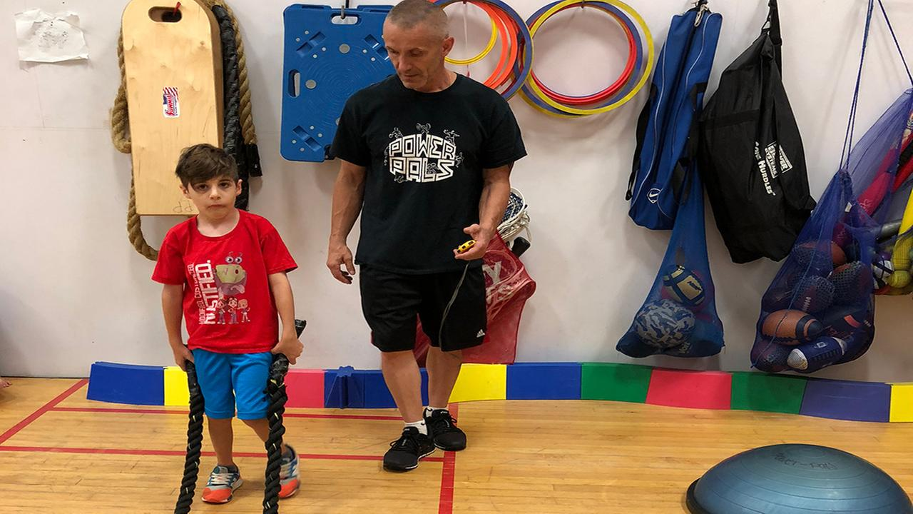 Man dedicates himself to teaching physical education to kids with special needs on Long Island