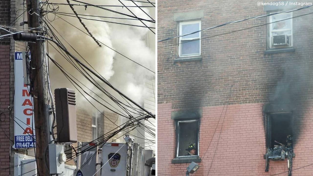 6 injured, 5 seriously, in Staten Island building fire