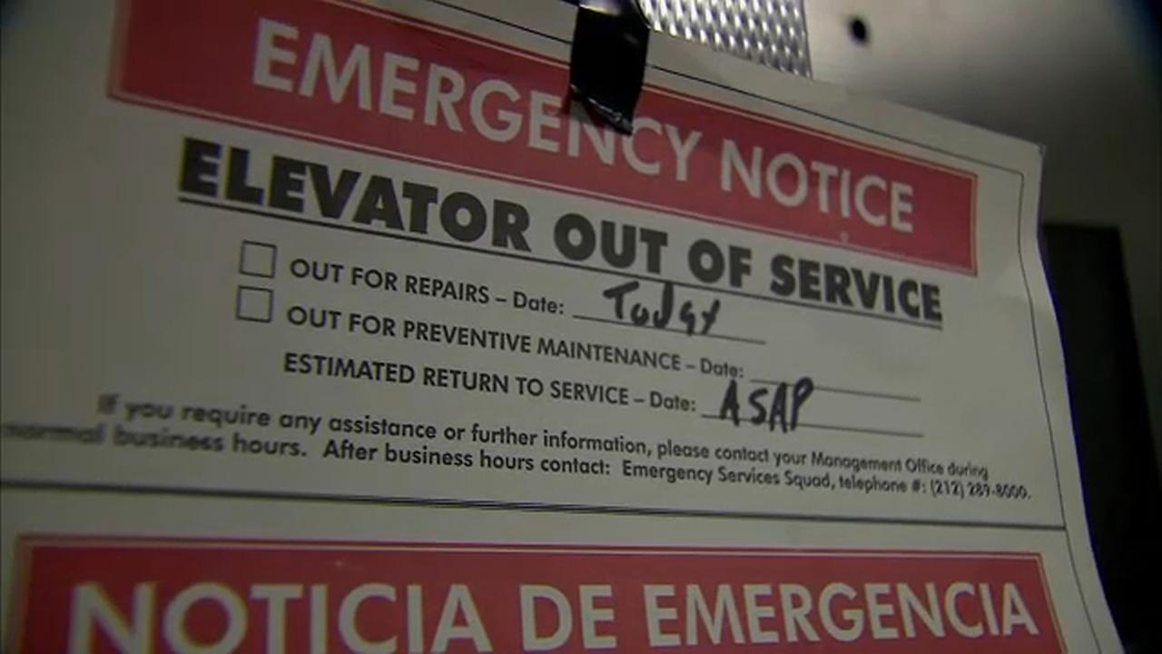 NYCHA making repairs on broken elevators in the Lehman Houses in East Harlem