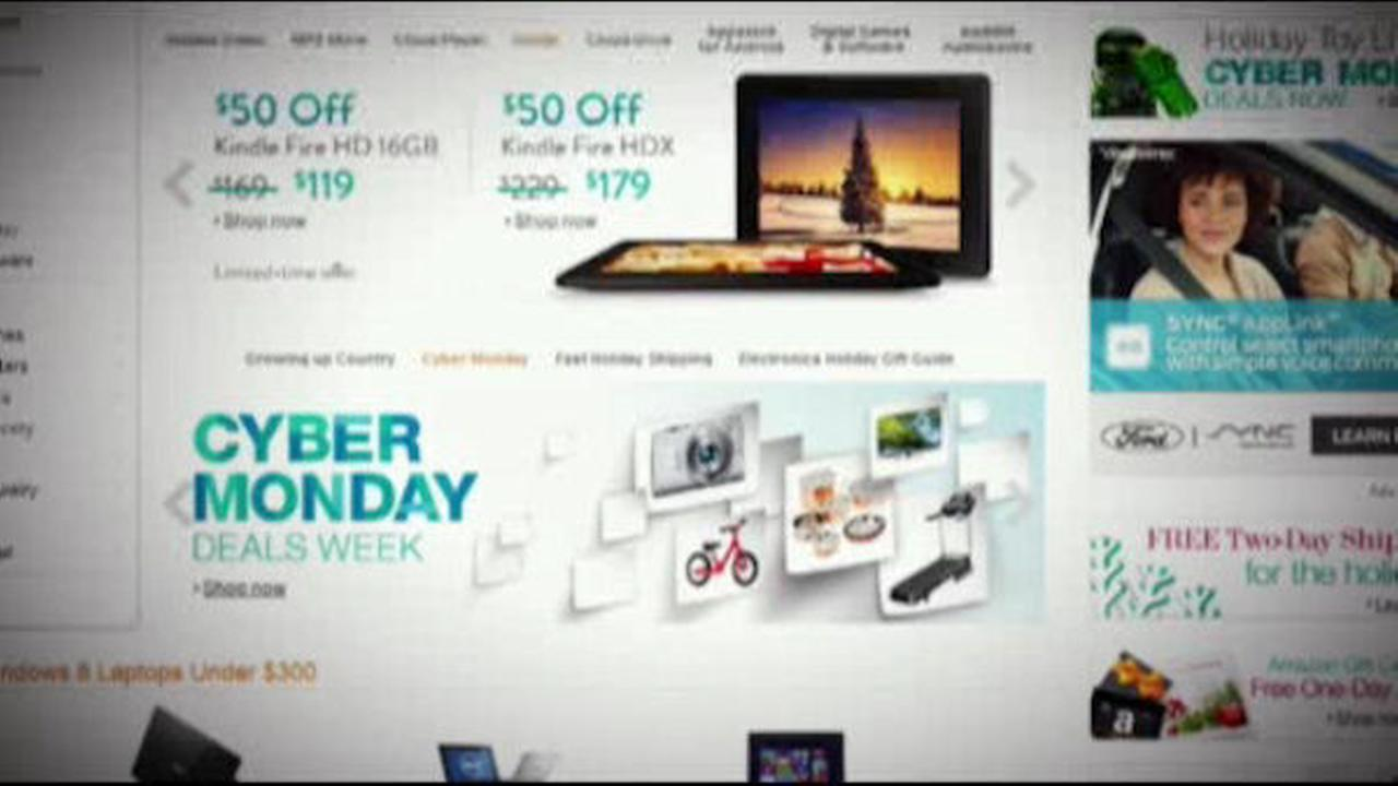 Shoppers logging on for Cyber Monday, biggest online shopping day of the year